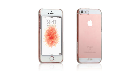 Tunewear EGGSHELL for iPhone SE/5s/5 - Crystal Clear