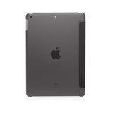 "Monocozzi LUCID Translucent Folio for iPad 9.7""(2017) - Charcoal"