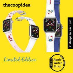 thecoopidea x Sanrio Hello Kitty My Melody Watch Strap Limited Edition (For Apple Watch 42mm/44mm)