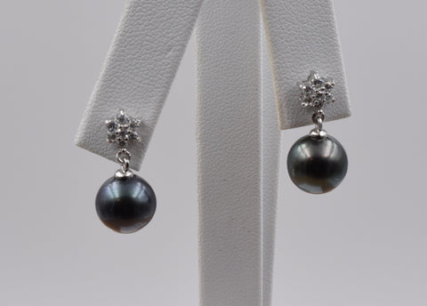 Round Pearl Earring - TPE017