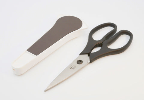 KITCHEN SHEARS WITH MAGNETIC HOLDER