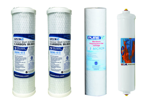 Reverse Osmosis Water Systems - 4 Stage Filters