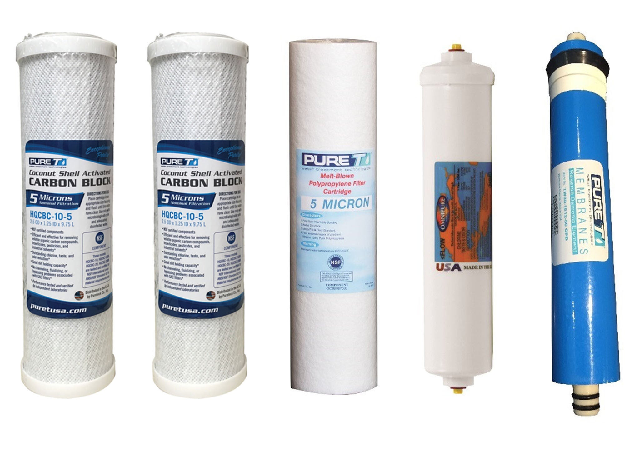 reverse osmosis water systems 5 stage filters