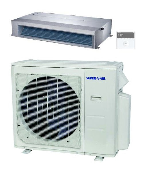 SuperAir Model 9 - SN24000D Luxury Collection (Concealed Ducted) - 24000 BTU / 20.5 SEER / 2 TON
