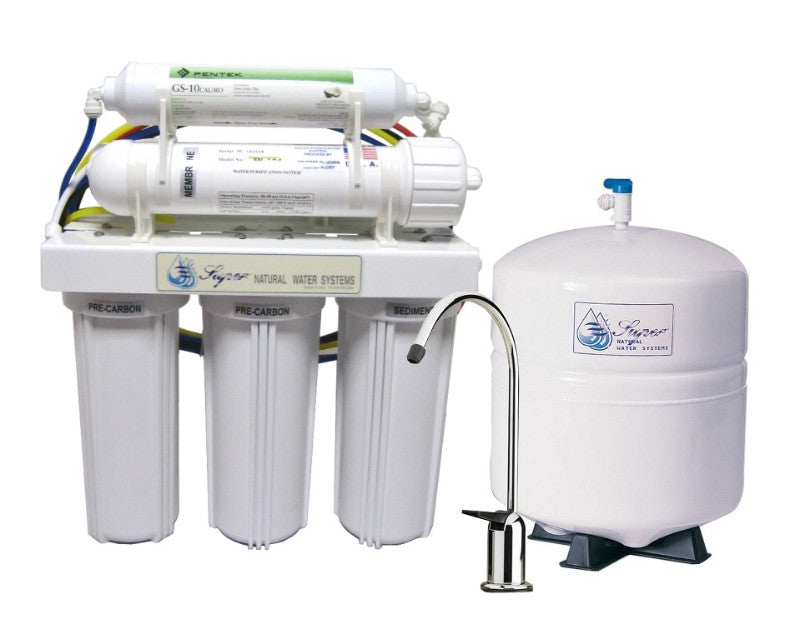 SuperAir Model-SN104 Reverse Osmosis 5 Stage Filtration System