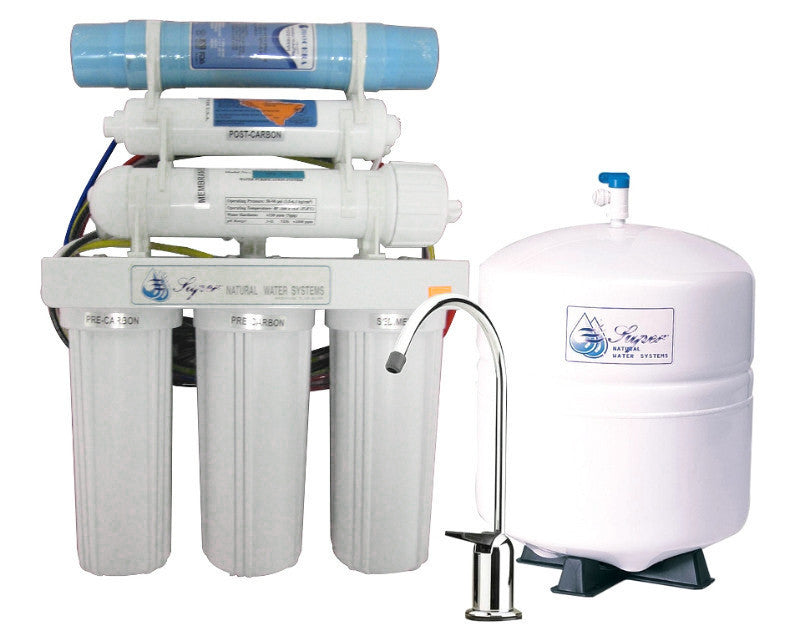Superair Model Sn105 Reverse Osmosis 6 Stage Filtration System