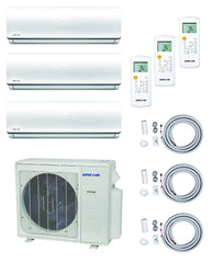 SuperAir Model 8 - SN27000MIO-3 (Tri-Zone) Luxury Collection - 12000 BTU + 12000BTU + 12000BTU / 23 SEER