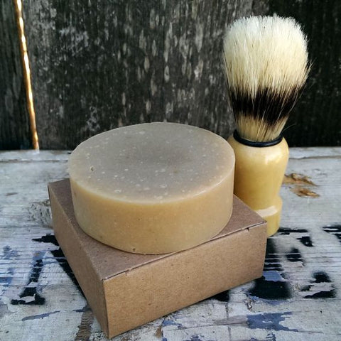 Bay Rum + Goat Milk Shaving Soap
