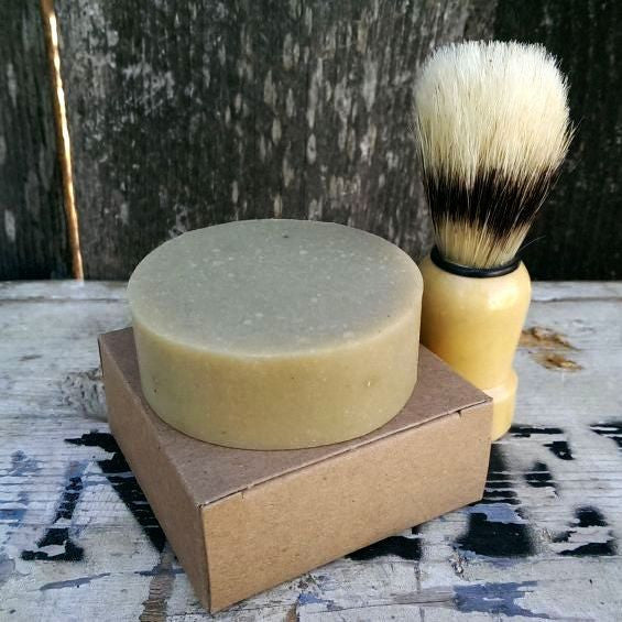 Lime + Aloe Shaving Soap