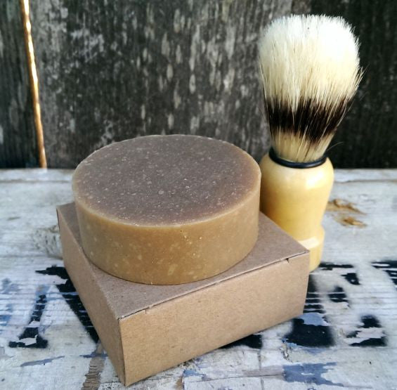 Woods + Ale Shaving Soap