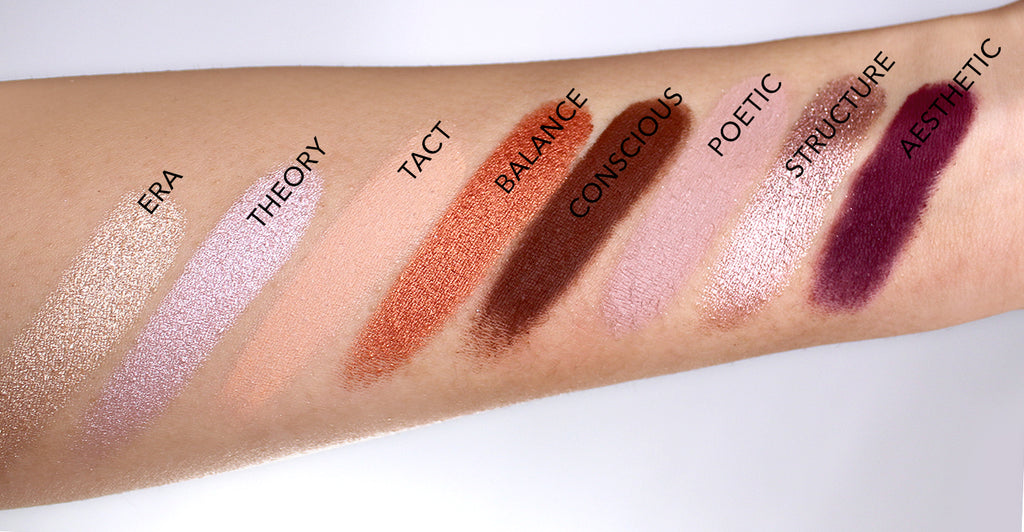 Protege Palette Swatches suva beauty