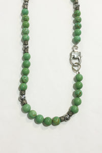 Jewellarto Green Apple Necklace