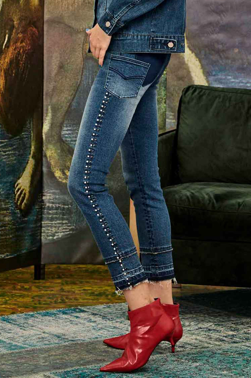Curate Stud Finder Jeans