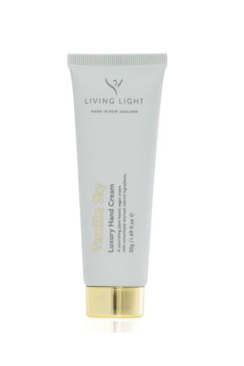 Living Light Luxury Handcream in Vanilla Sky