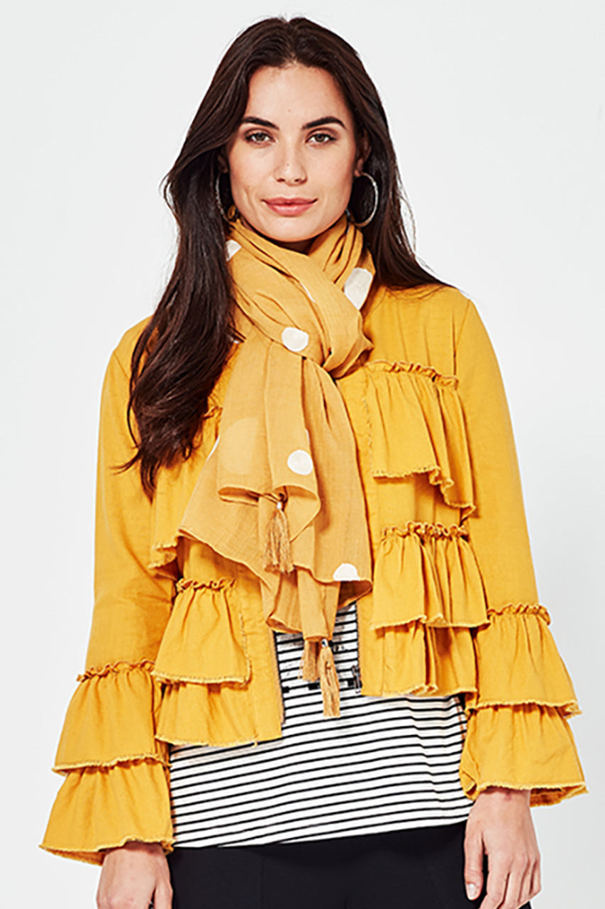 Lemon Tree Viola Linen Jacket