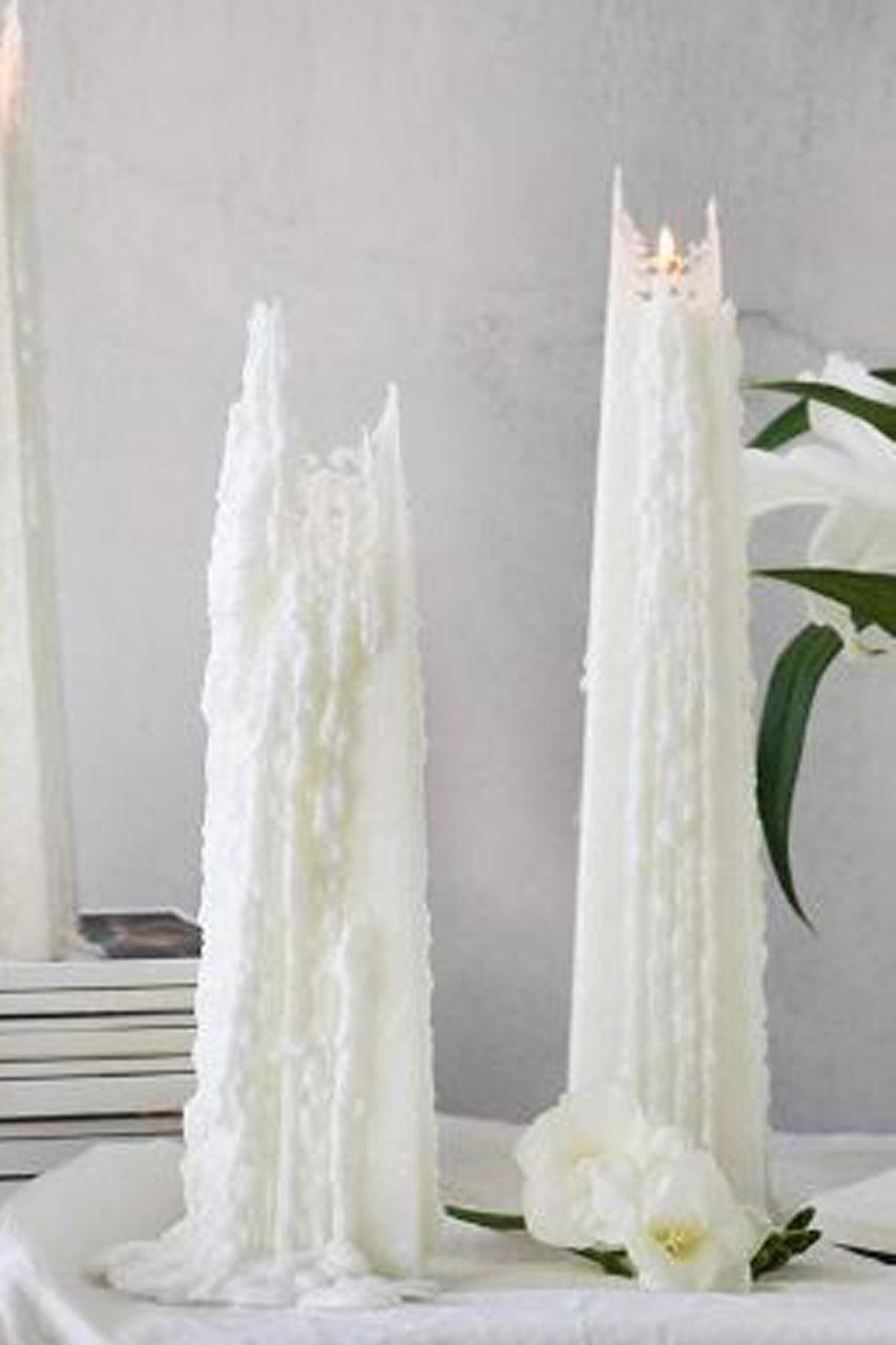 Living Light Icicle Candle Vanilla Orchid