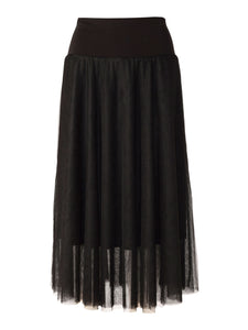 Sills Paloma Tulle Skirt in Black