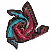 Raw Artistry Silk Scarf Inspire Me by Angie Dennis