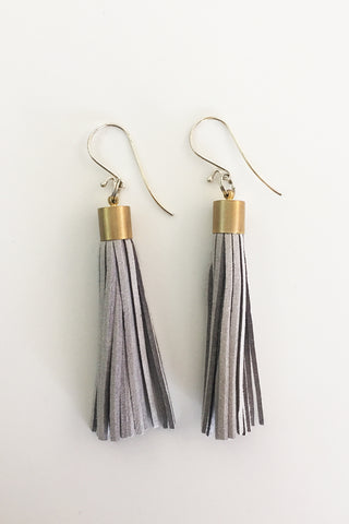 Kube Tassel Earrings