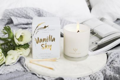 Living Light Vanilla Sky Candle (65hrs)