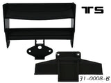 F1-0008-B Rear Wing-Black