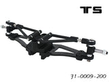 F1-0009-180 Front Suspension/arms-180mm