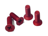8-32 Front End screws (red)