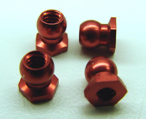 Anodized Low Roll Center Balls