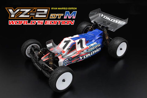 # - YOKOMO YZ-2 DTM World Edition - With Serial Number - NUMERATE !!!