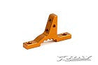 302024-O - T3 Alu Upper Clamp for Bulkheads - Orange