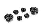 304931 - Graphite Gear Differential Bevel & Satelitte Gears (2+4)