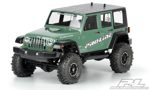 3336-00 Jeep Wrangler Unlimited Rubicon Clear Body