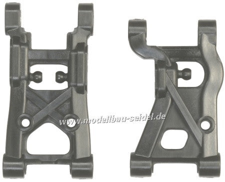 54444 - RC Carbon Reinforced F Parts - XV-01 (Sus Arms, 2pcs)