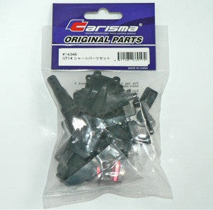 Carisma R/GT14 Chassis Support Set