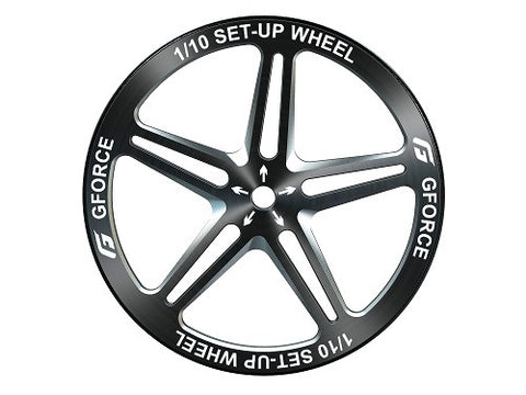 G-FORCE - G0092 Setup wheel(Black? - 4pcs