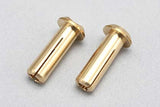 (()) - RP-053 - Racing Performer 24K Gold plug (Φ4mm/2 pcs)
