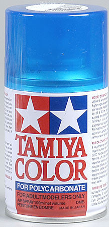 Tamiya PS-39 Polycarb Spray Trans Light Blue 3 oz