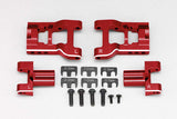 Y2-R08RAS - Aluminum adjustable rear short H arm for YD-2 (Red/Bevel edge)