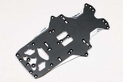 YX-0219A - Aluminum main chassis for YRX12 2019