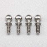 Z2-206-8 - HD φ5.5mm Rod end ball (Screw 8mm long/4pcs) for YZ-2/YZ-4