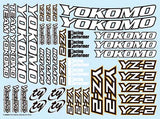 ZC-YZ-2 - Decal sheet for YZ-2
