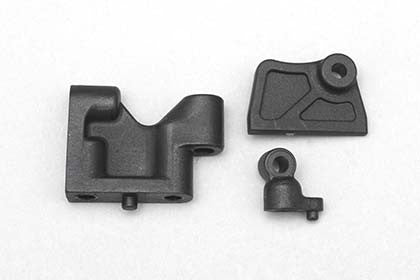 B7-20314 - Plastic servo mount/Belt tensioner/Battery guide