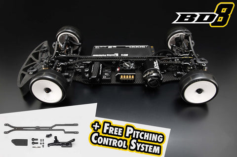 # - Yokomo BD8-2017 Black Series with Carbon Chassis