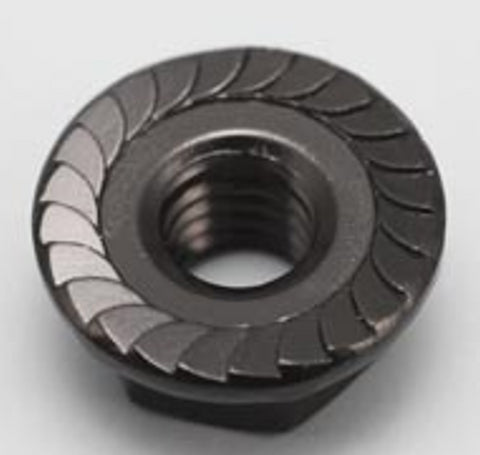 LeeSpeed Serrated Alu Wheel Flanged Nuts - ALL colors available (4pcs)