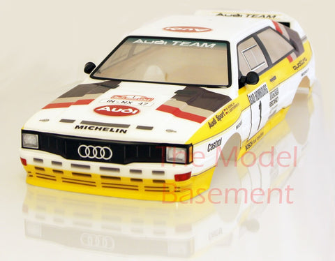 Carisma CA14831 M40S Audi Rallye Quattro Body Shell Only Decorated