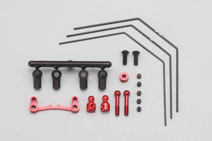 DRR-412RS Rear Stabilizer Set for DRB (3Wires?Red)