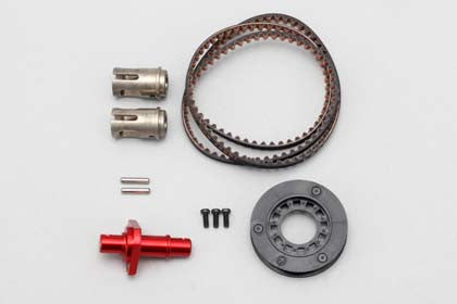 IB-FCD13R Full Counter Solid Axle Set for DIB ?Rear ?1.3?Red)