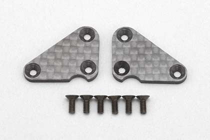 R12-10LP Lower A Arm plate L/R (Graphite) for YOKOMO R12C3