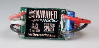 Castle Creations SideWinder MICRO Brushless ESC
