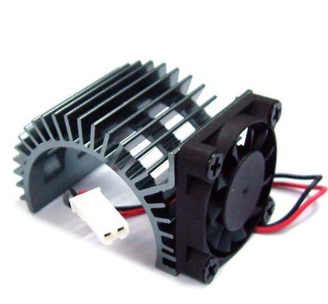 540 Motor Heat Sink W/Fan (GM)